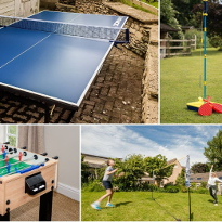 Games Room and Table Tennis and Outdoor Games